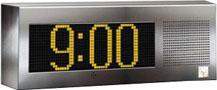 IP Clock Display